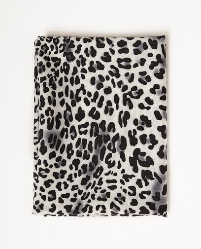 Sjaaltje met luipaardprint